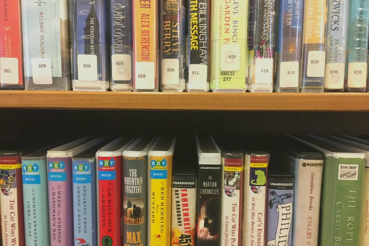 audio books and e-books   saranac lake free library