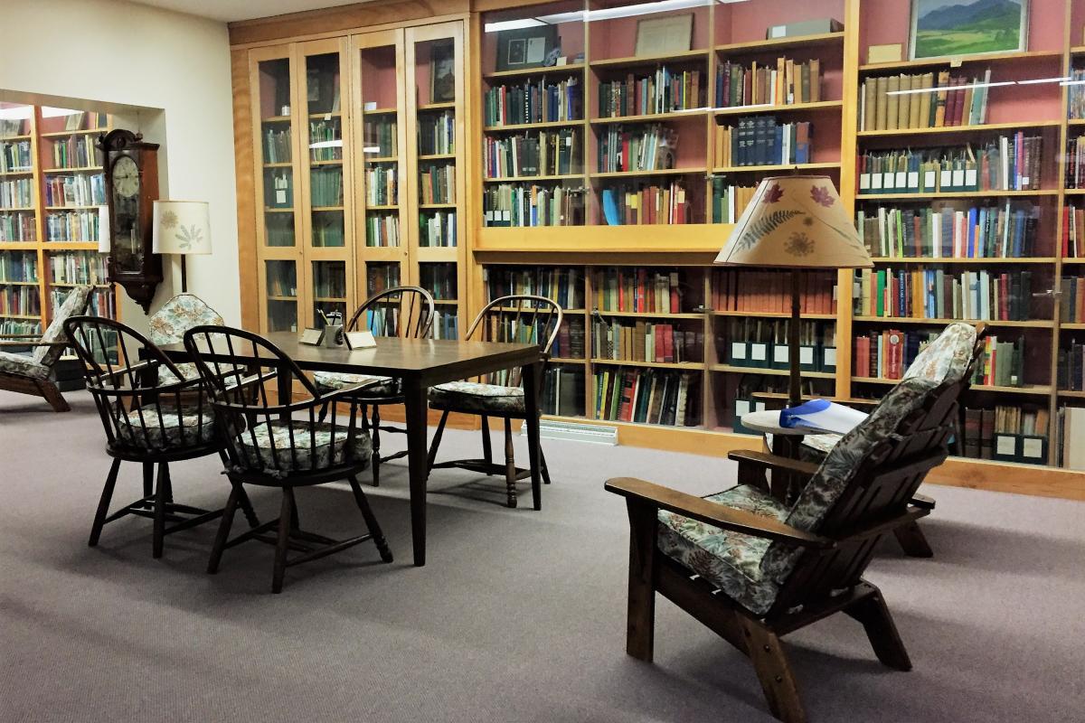 William Chapman White Memorial Adirondack Research Room